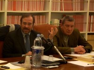 Agostino Giovagnoli, Giuseppe Sangiorgi