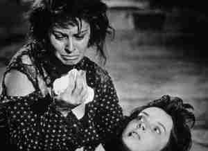 Dalle vicende dei gravissimi fatti di Ciociaria fu tratto un film di Vittorio De Sica interpretato da Sofia Lauren che ottenne l'Oscar.