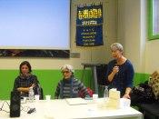 Luisa Ghidini (al microfono)