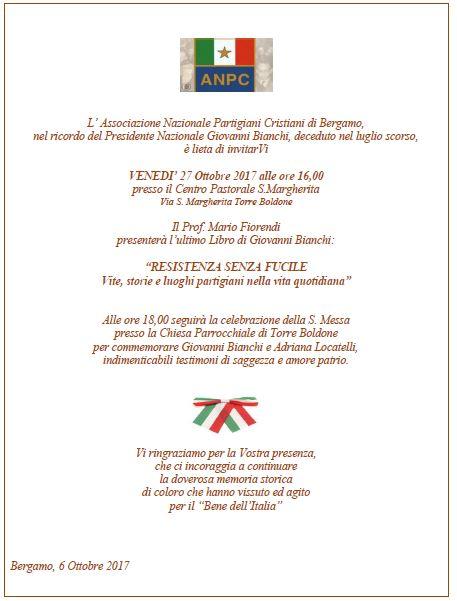 invito Bergamo