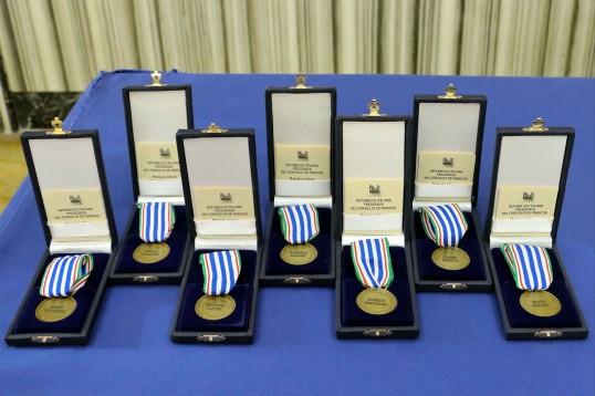 medaglie conferite