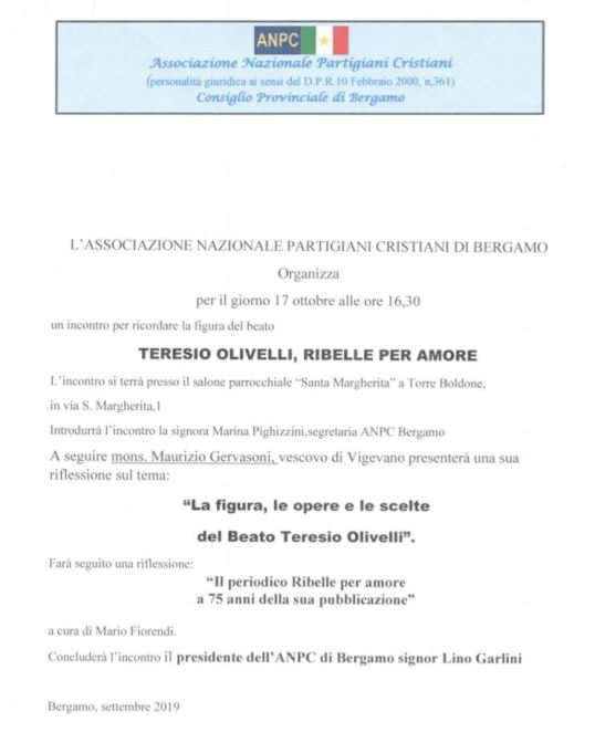 Olivelli Bergamo
