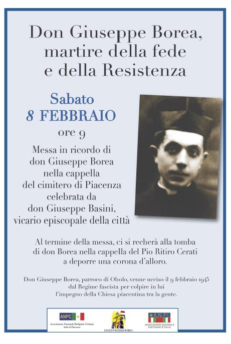 Don Giuseppe Borea commemorazione 2020